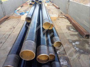 Отправка трубы 108 в ВУС изоляции на объект Газпрома